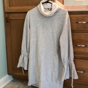 NWT Express cowl neck sweater tunic.